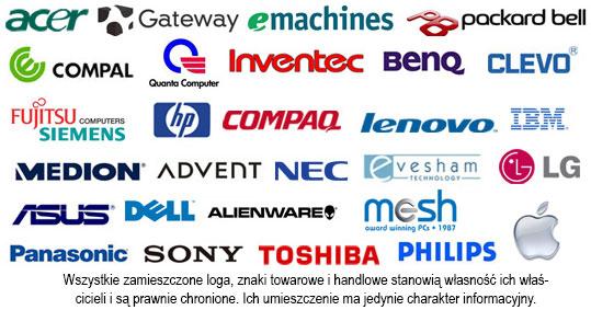 Serwis pogwarancyjny wszystkich producentów laptopów